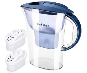 Hskyhan Alkaline Water Filter Pitcher