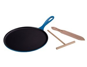 Le Creuset Enameled Cast-Iron Crepe Pan