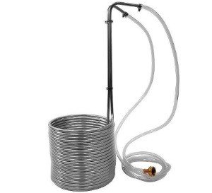 Super Efficient Stainless Steel Wort Chiller NY Brew Supply Review