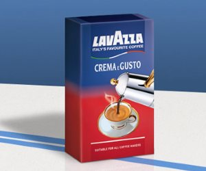 Lavazza Crema e Gusto Ground Coffee