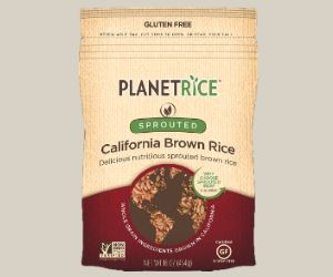 Sprouted Brown Gaba Planet Rice
