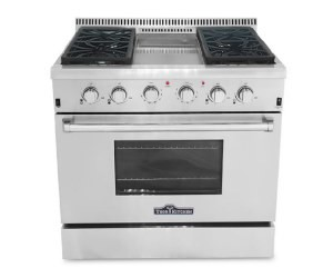 Thor Kitchen 36 inch Gas Range HRG3609U