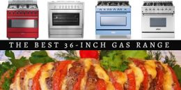 Top 10 Best 36-inch Gas Ranges 2018