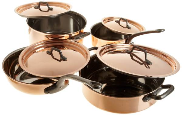 Bourgeat 8 piece copper cookware set Review