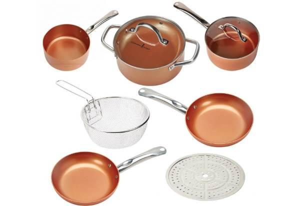 Copper Chef Nine-Piece Round Set Review