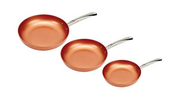 Copper Chef Round Pan Three Pack Review