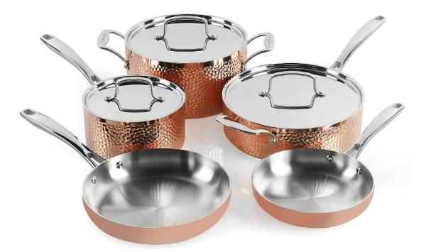 Cuisinart HCTP-8W Hammered Copper Set