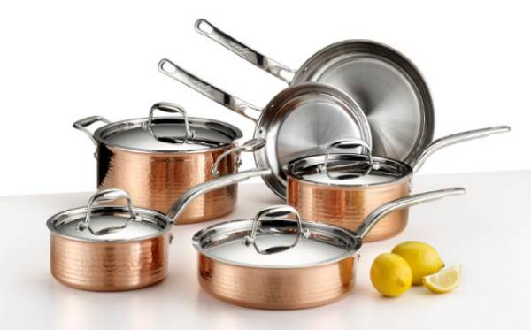 Lagostina Martellata Tri-Ply Stainless Steel Cookware Set Review