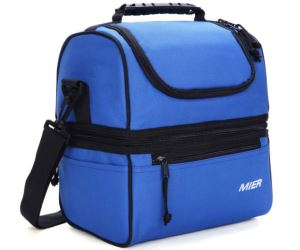 MEIR Double Deck Insulated Lunch Box Review