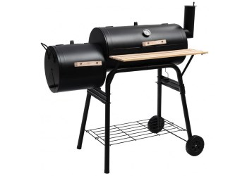 Giantex BBQ Grill with Offset Smoker Review